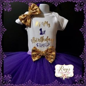 Other - Baby girl 1st birthday tutu outfit